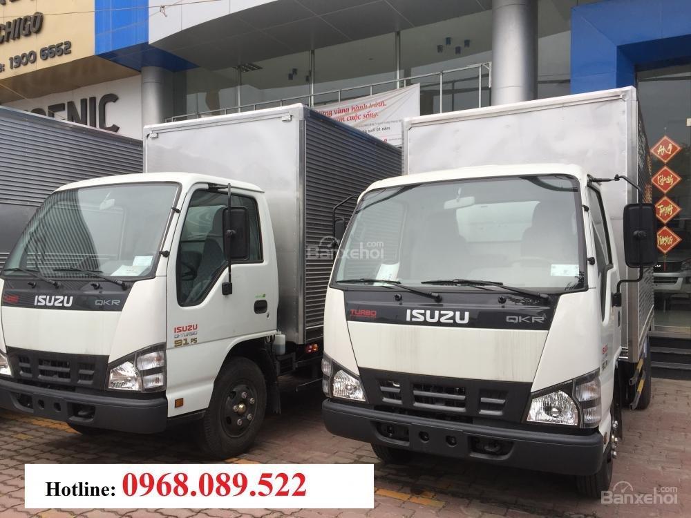 Bán xe tải Isuzu 2T4, 2T8 giá rẻ, KM thuế trước bạ hỗ trợ trả góp 75% giao xe ngay LH: 0968.089.522-2