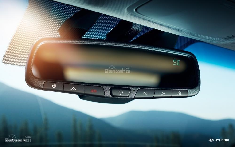 Hyundai Ioniq Hybrid 2017 được trang bị công nghệ cảnh báo điểm mù a2