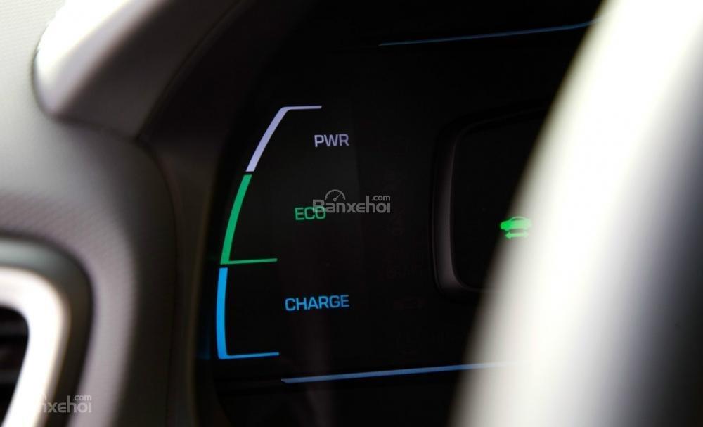 Hyundai Ioniq Hybrid 2017 và chế độ lái ECO a1