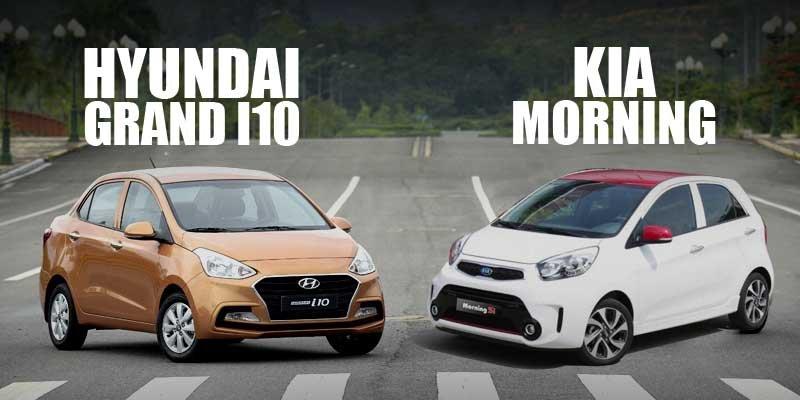 So sánh xe Hyundai Grand i10 2017 và Kia Morning 2017: Ô tô 400 triệu nào tốt nhất?.