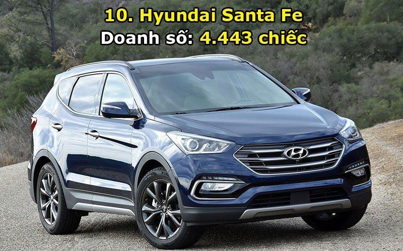 Top 10 xe bán chạy nhất thị trường Hàn Quốc trong tháng 6/2017 10