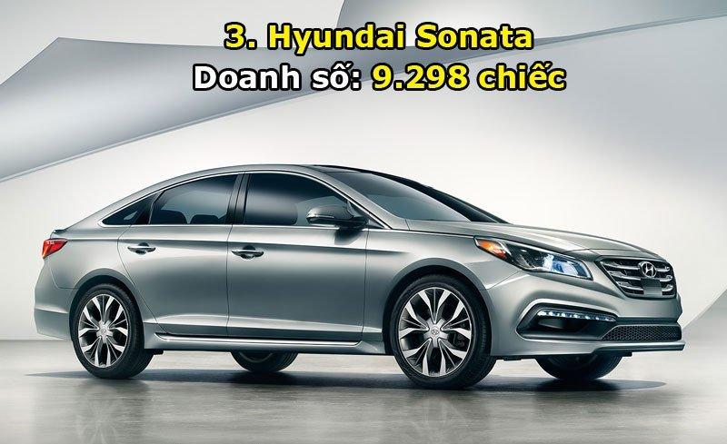 Top 10 xe bán chạy nhất thị trường Hàn Quốc trong tháng 6/2017 3