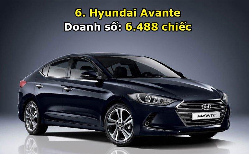 Top 10 xe bán chạy nhất thị trường Hàn Quốc trong tháng 6/2017 6