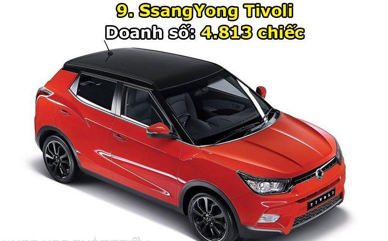 Top 10 xe bán chạy nhất thị trường Hàn Quốc trong tháng 6/2017 9