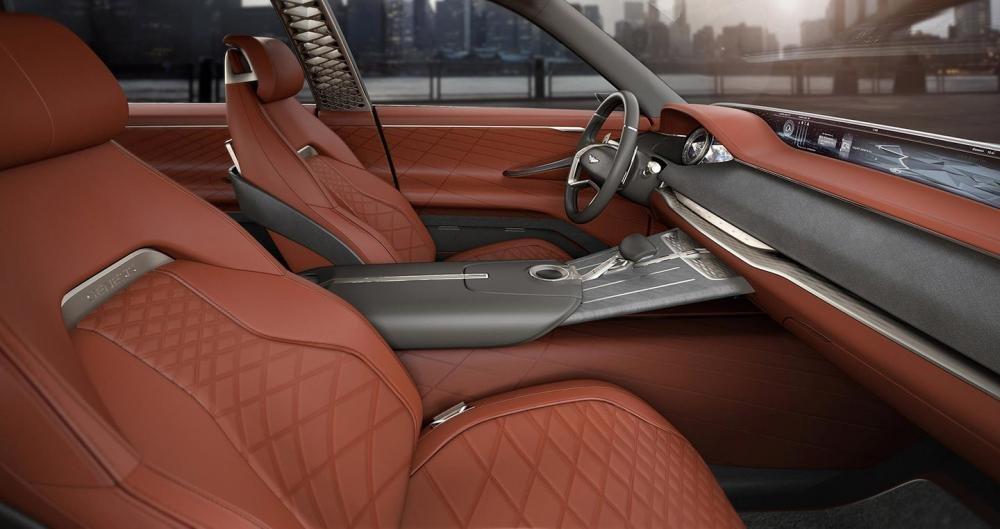 Nội thất của concept SUV Hyundai Genesis 2