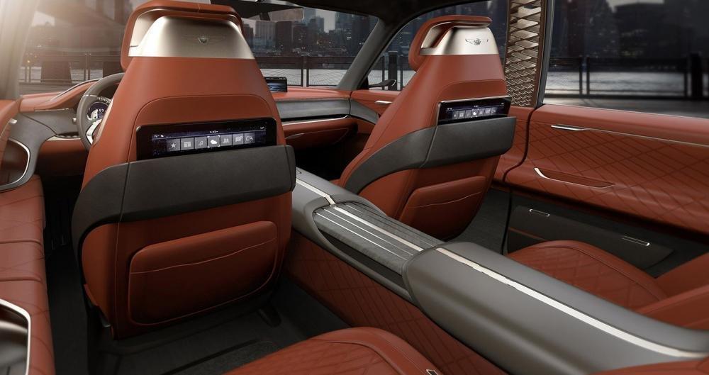 Nội thất của concept SUV Hyundai Genesis 1