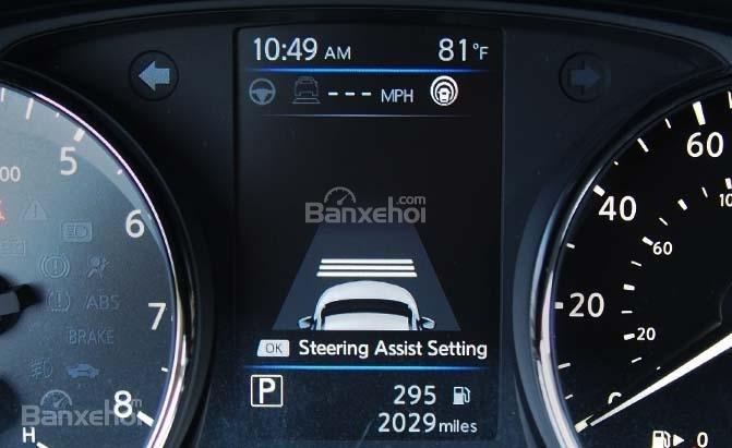 ProPILOT Assist sẽ đưa ra cảnh báo nếu lái xe mất tập trung.