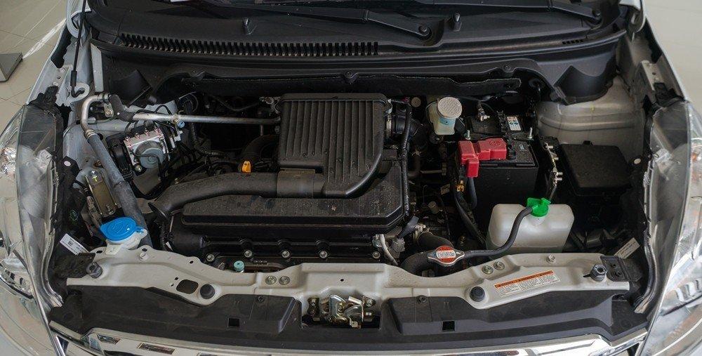 Suzuki Ertiga2017 vẫn giữ nguyên khối động cơ 4 xi lanh thẳng hàng 1.4L mạnh 95 mã lực.