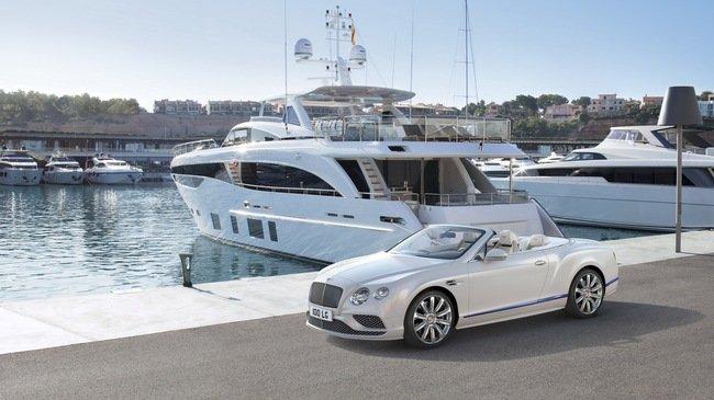 Phiên bản Continental GT Convertible mang cảm hứng du thuyền.