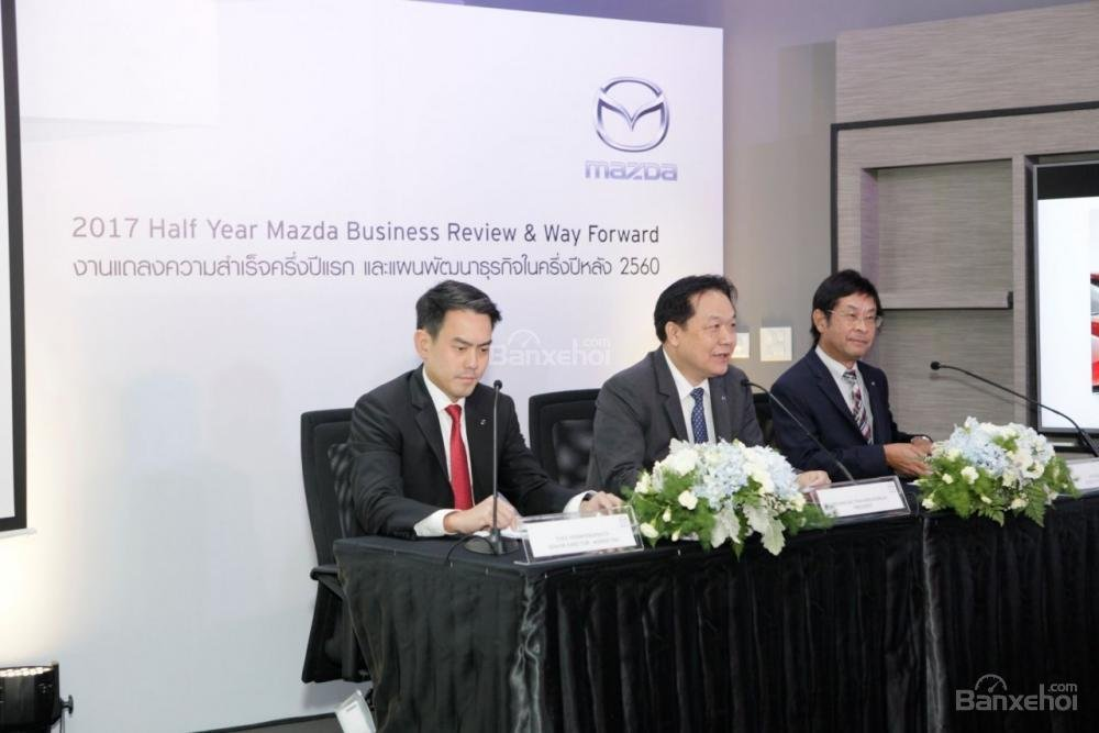 6 tháng đầu năm 2017: Doanh số Mazda tại Thái Lan tăng 13%.