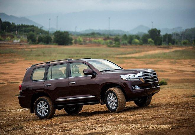 Phiên bản nào của Toyota Land Cruiser được giảm 130 triệu? g1