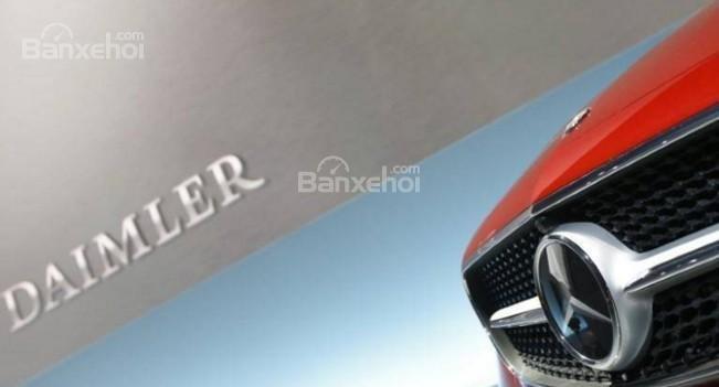 Quý II/2017, lợi nhuận của Daimler tăng nhẹ.