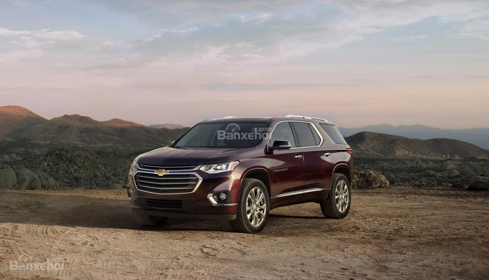 Chevrolet Traverse 2018 chốt giá từ 701 triệu đồng, đối đầu Ford Explorer 2018 z