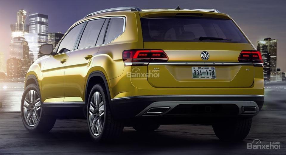 """""""Tân binh"""" SUV Volkswagen Atlas lập kỷ lục doanh số chỉ sau 1 tháng mở bán."""