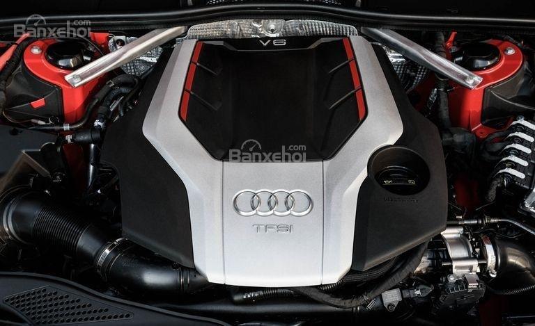 Đánh giá xe Audi S4 2018: Xe được trang bị động cơ tăng áp V6.