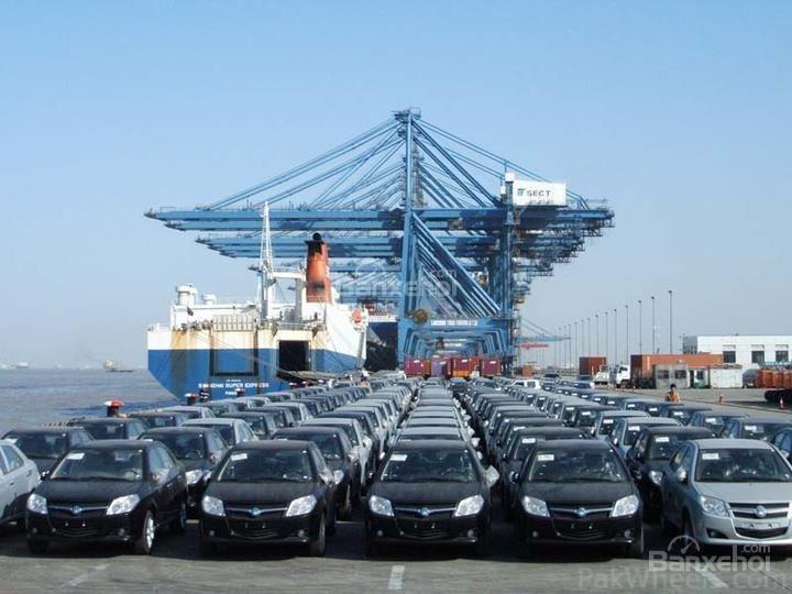 Lượng xe xuất khẩu của Trung Quốc duy trì mức tăng trưởng mạnh mẽ.