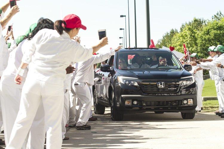 Quý I tài chính: Lợi nhuận ròng Honda tăng 19%.