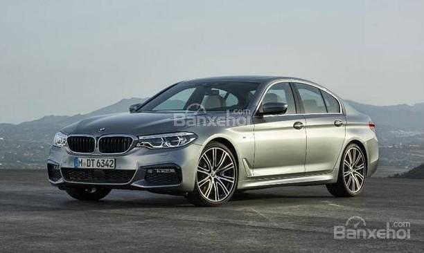 Quý II/2017, lợi nhuận của BMW tăng 7,5% nhờ mẫu 5-Series mới.
