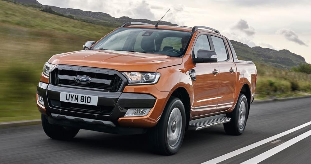 Tháng 7/2017: Ford Ranger vẫn không có đối thủ ở phân khúc xe bán tải a2