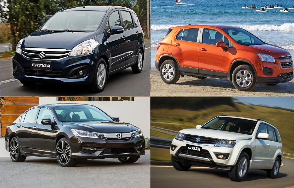 Top 10 xe ô tô ế nhất tháng 7/2017 tại Việt Nam.