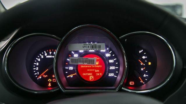 Đánh giá xe Kia Rio 2017: Đồng hồ bản sedan cũng 3 vòng thông số a25