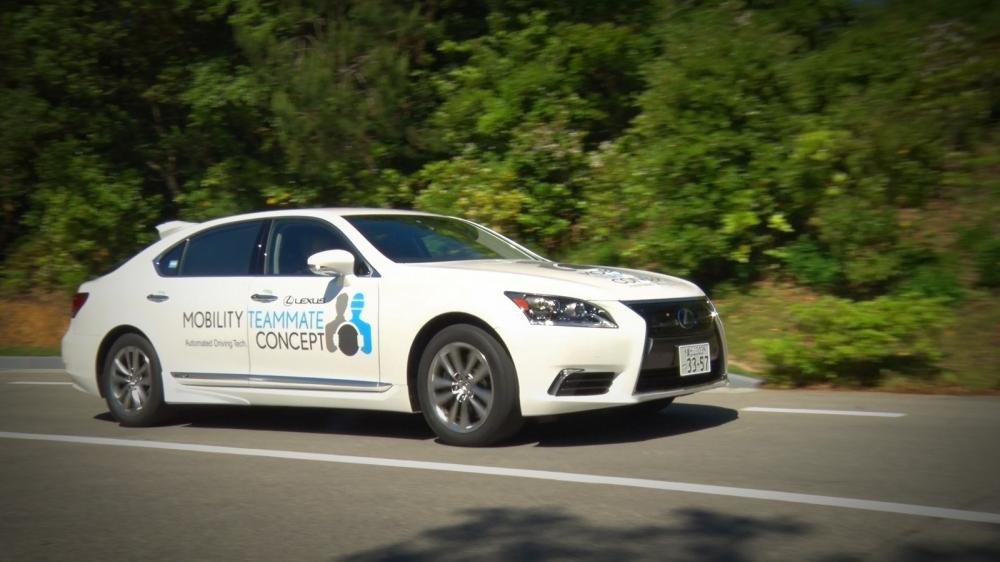 Toyota trình làng công nghệ tự lái tại Thế vận hội mùa hè 2020 a1