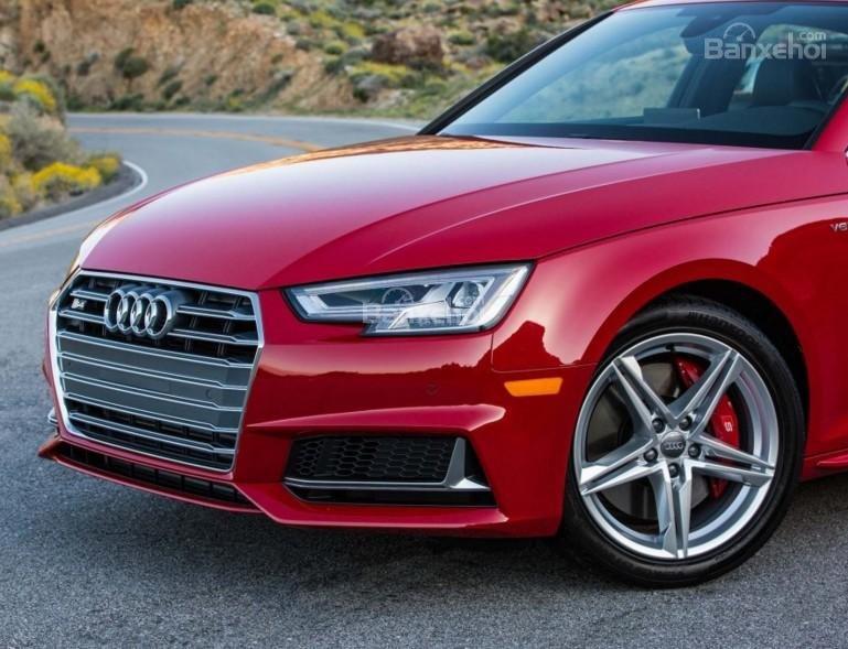 Đánh giá xe Audi S4 2018: Thiết kế thân xe.