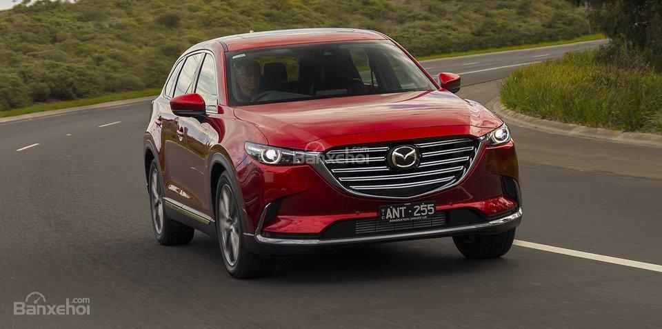 Mazda CX9 2018 tiết lộ giá bán kèm thông số kỹ thuật a1