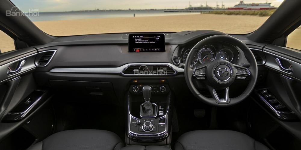 Mazda CX9 2018 tiết lộ giá bán kèm thông số kỹ thuật a2