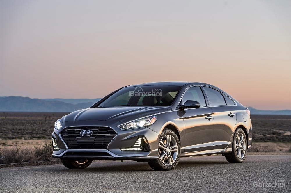 Đánh giá xe Hyundai Sonata 2018: Sở hữu hàng loạt thay đổi mới,