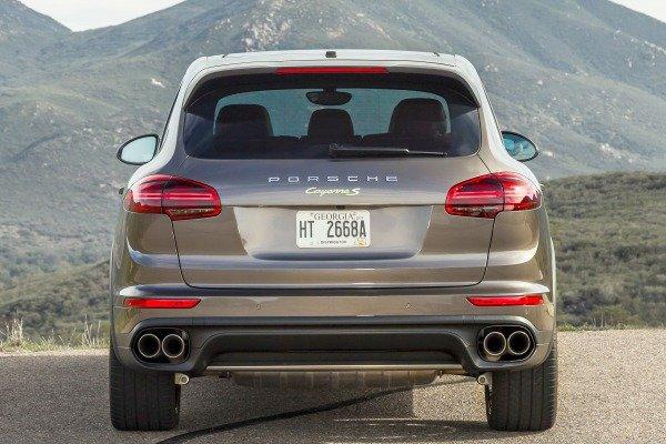 Đánh giá xe Porsche Cayenne 2017: Đuôi xe gần như không thay đổi a10