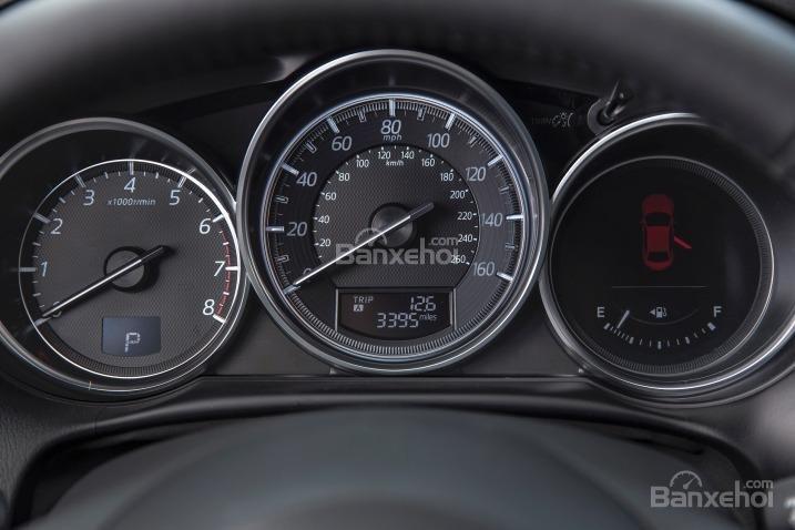 So sánh xe Hyundai Tucson CKD 2017 và Mazda CX-5 2016 về cụm đồng hồ lái 5