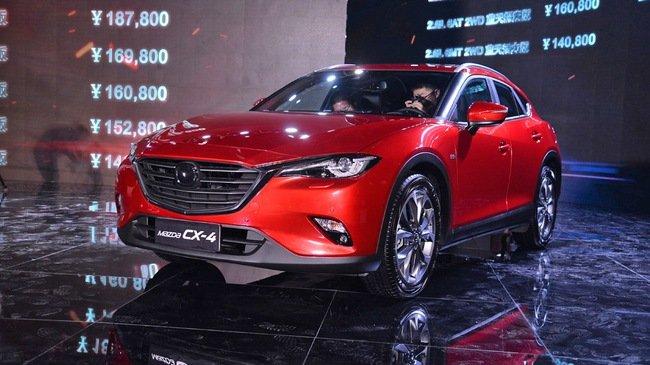 Mazda CX-4 đầu xe