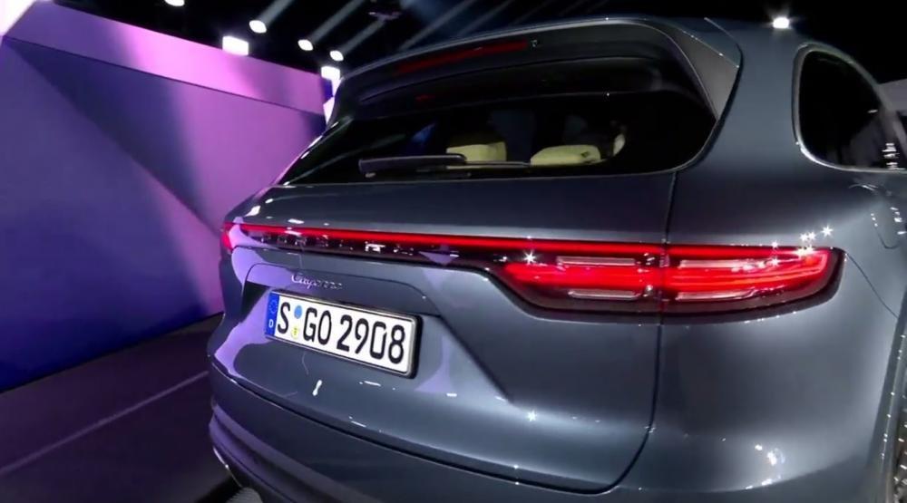 Khá nhiều điểm mới của Porsche Cayenne 2018 vừa trình làng a9