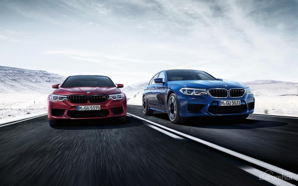 Đánh giá xe BMW M5 2018: Thiết kế thể thao, mạnh mẽ.