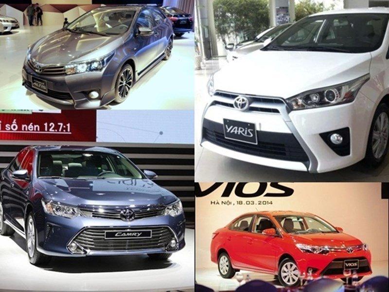 Hình ảnh các mẫu xe của Toyota 2a