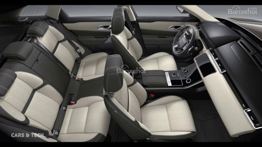 Đánh giá xe Range Rover Velar 2017: 5 chỗ ngồi rộng rãi, thoải mái
