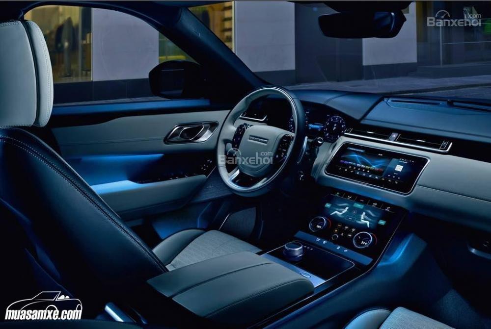 Đánh giá xe Range Rover Velar 2017: Đèn nội thất tùy chỉnh