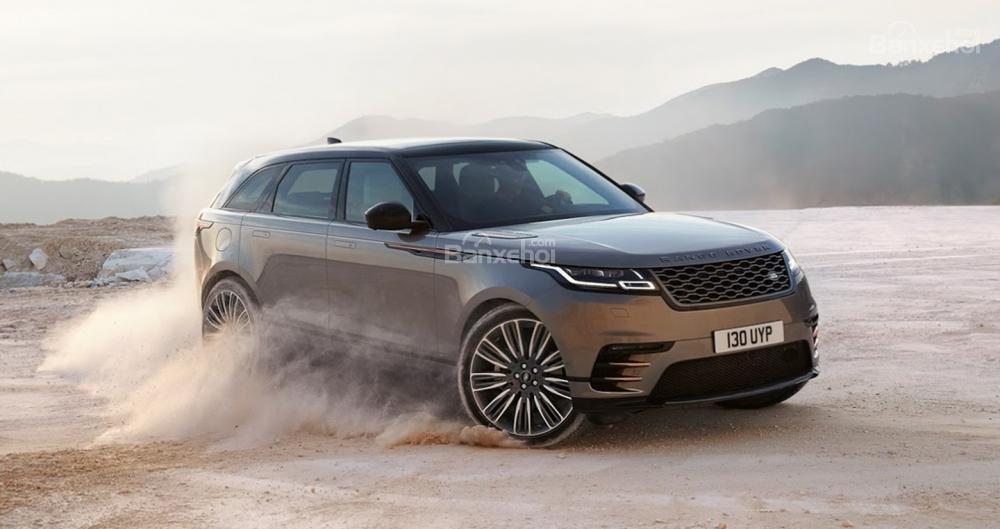 Đánh giá xe Range Rover Velar 2017: SUV sang chảnh, tiện nghi