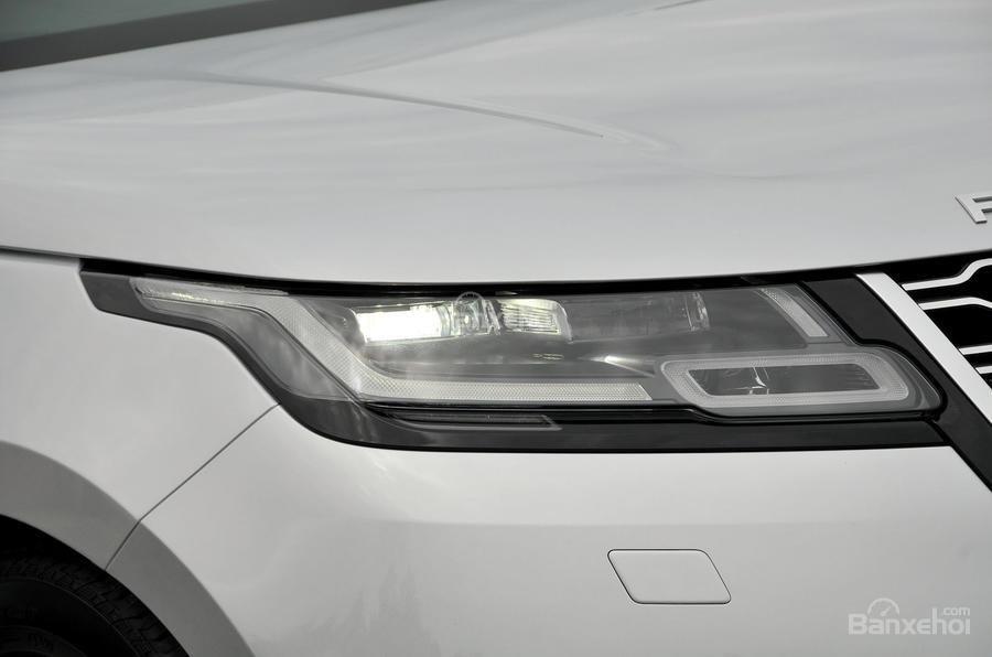 Đánh giá xe Range Rover Velar 2017: Đèn pha LED