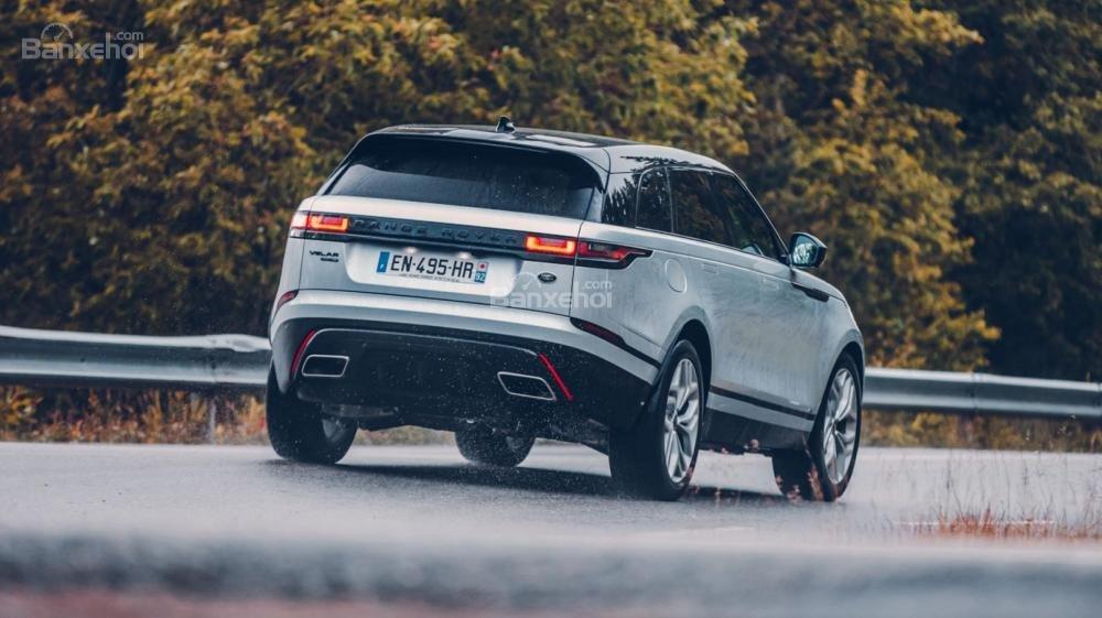 Đánh giá Range Rover Velar 2017: Đuôi xe có thiết kế hoàn toàn mới