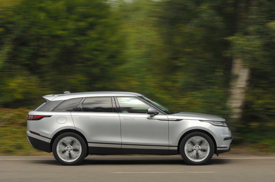 Đánh giá Range Rover Velar 2017: Thiết kế thân xe phong cách thời thượng