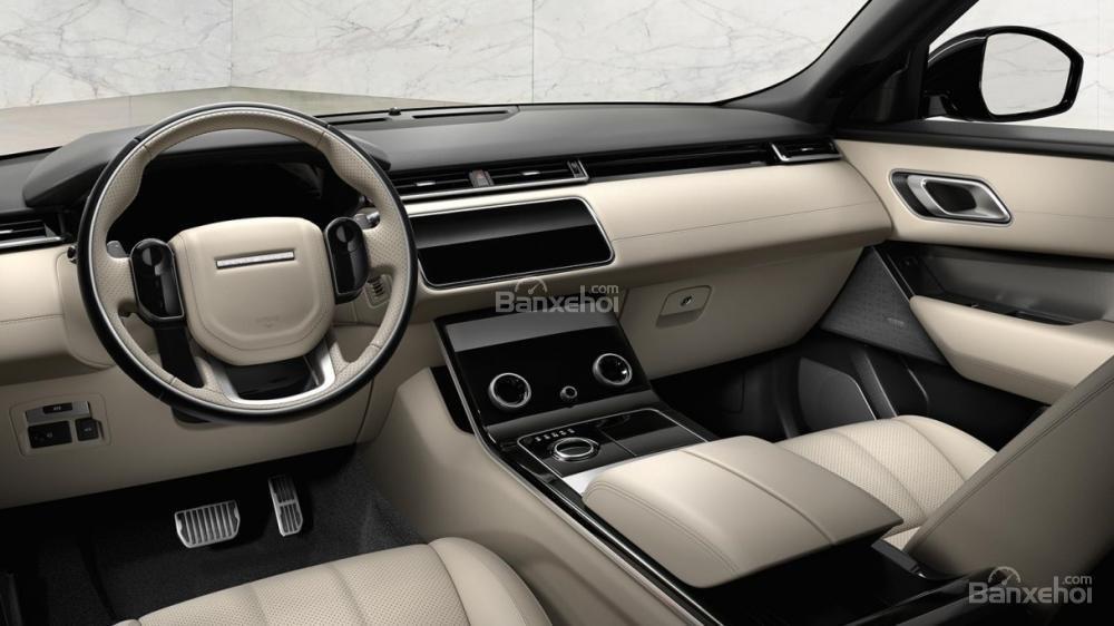 Đánh giá xe Range Rover Velar 2017: Nội thất sang trọng, lịch lãm