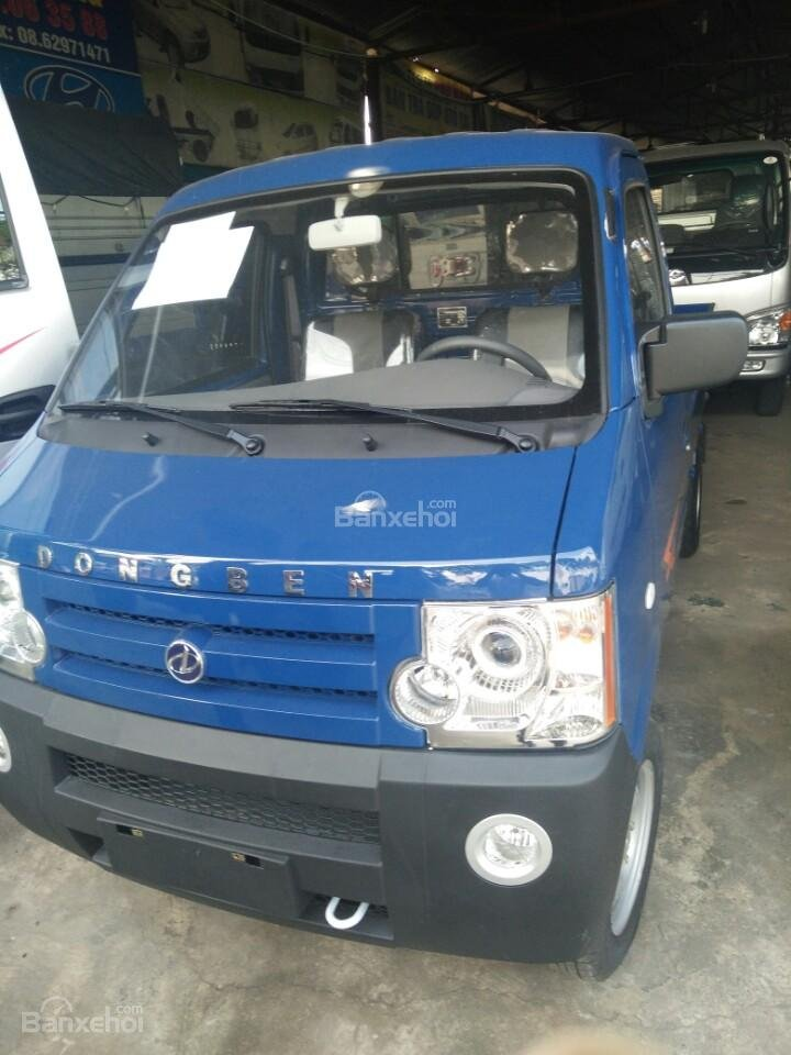 Bán xe tải Dongben 810kg, giá rẻ, trả góp 90% giá trị xe-0