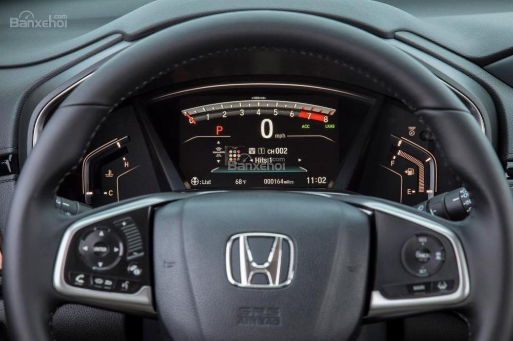 Cụm đồng hồ lái trên Honda CR-V 2017
