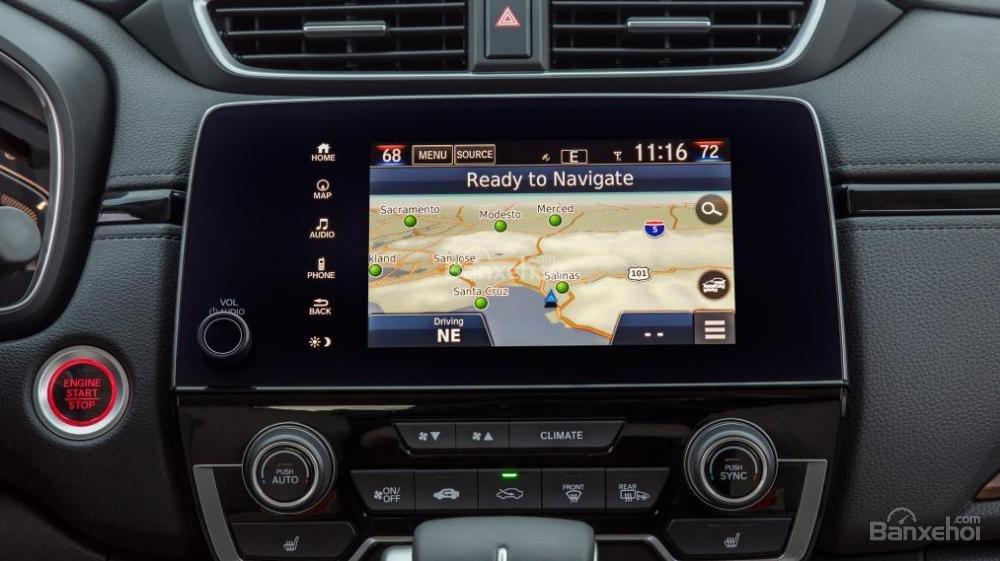 Honda CR-V 2017 nhanh chân hơn Mazda CX-5 2017 khi cập nhật kết nối Apple CarPlay và Android Auto a2