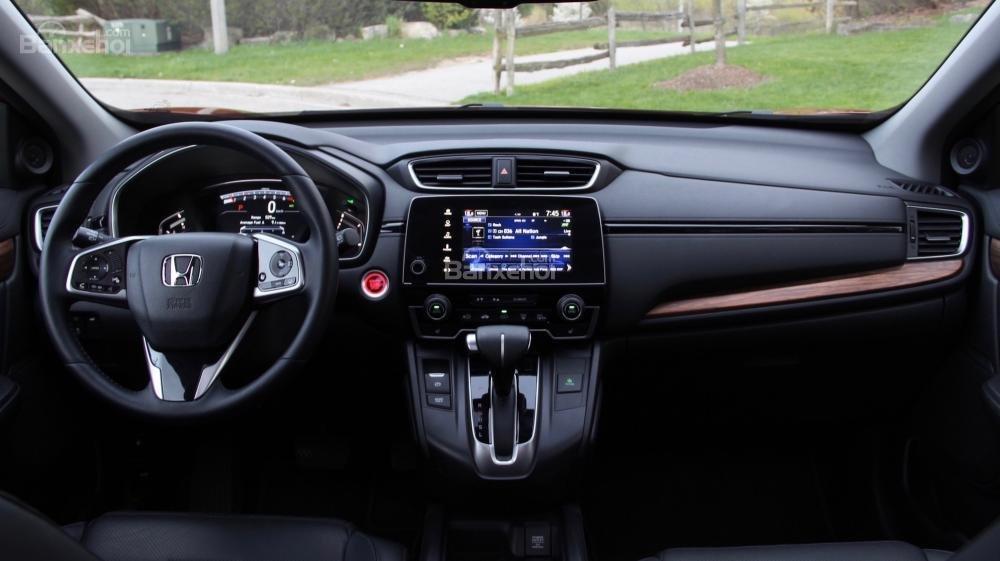 Khoang nội thất Honda CR-V 2017