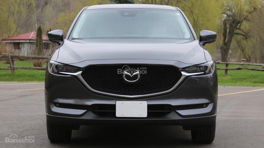 Đầu xe Mazda CX-5 2017: Thiết kế đơn giản, nhẹ nhàng, tinh tế