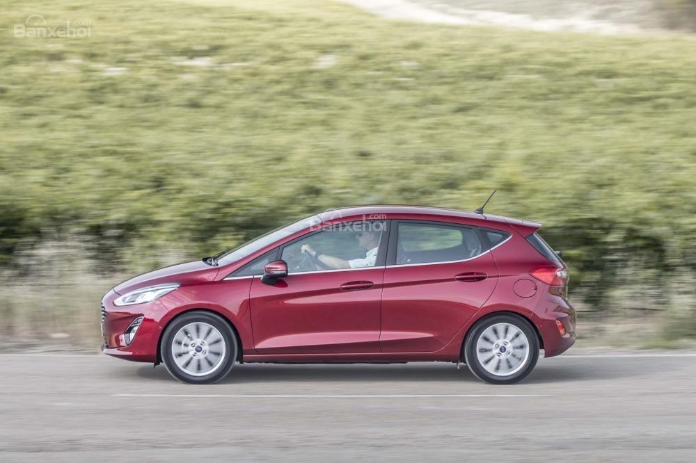 Đánh giá xe Ford Fiesta 2018 về thiết kế thân xe