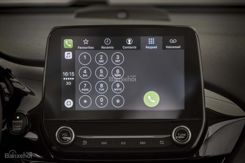 Đánh giá xe Ford Fiesta 2018: Màn hình cảm ứng dạng tablet/